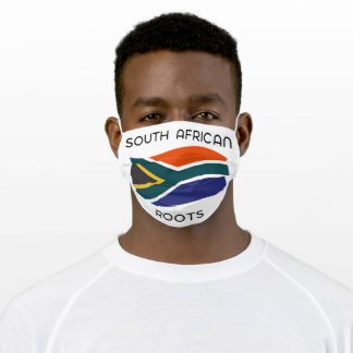 South African Roots Adult Cloth Face Mask