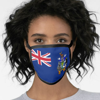South Georgia and the South Sandwich Islands flag Face Mask