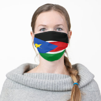 South Sudan flag & Sudanese fashion /sports mask