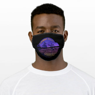 Southern California Palms Sunset Adult Cloth Face Mask