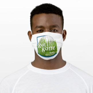 Southern Golfing Adult Cloth Face Mask