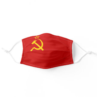 Soviet Union Flag Adult Cloth Face Mask