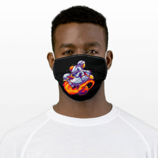 Space Adult Cloth Face Mask