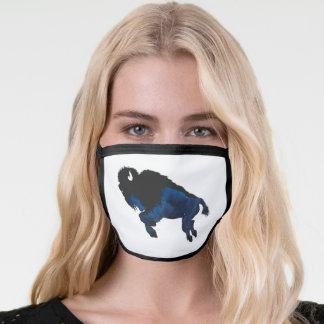 Space Bison Face Mask