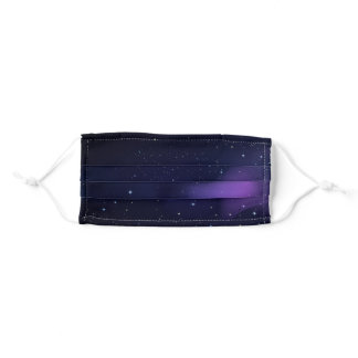 Space Galaxy Designs Adult Cloth Face Mask