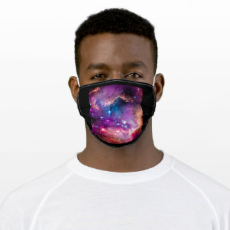 Space uinverse cosmo inspiration galaxy adult cloth face mask