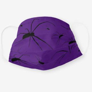 SPIDER ART ADULT CLOTH FACE MASK