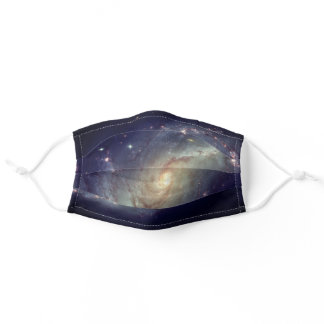 Spiral Galaxy Space Stars Cosmos Adult Cloth Face Mask