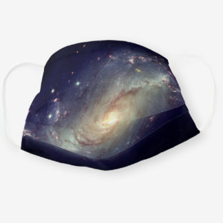 Spiral Galaxy Space Stars Cosmos Cloth Face Mask