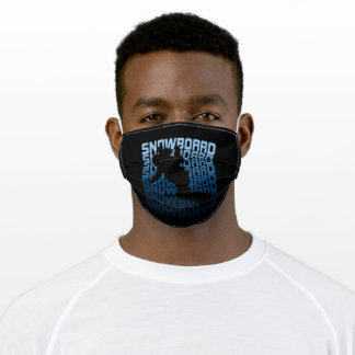 Sport Snowboard Adult Cloth Face Mask