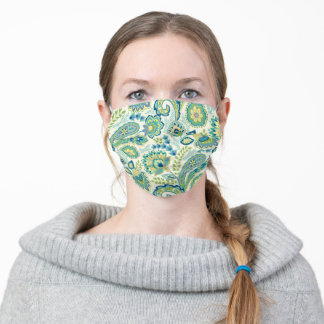 Spring Garden Paisley Adult Cloth Face Mask