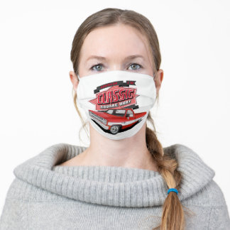 Square Body Adult Cloth Face Mask
