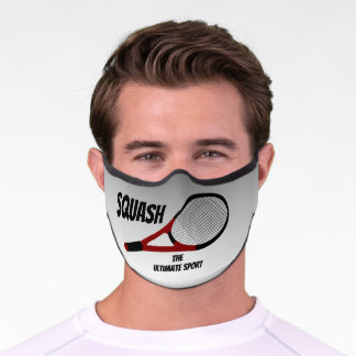 Squash - the Ultimate Sport Face Mask