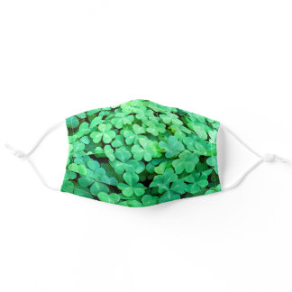 St Patrick's Day Adult Cloth Face Mask