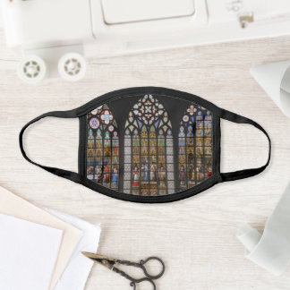 Stained Glass Church Face Mask