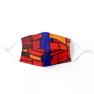 Stained Glass Mosaic Adult Cloth Face Mask