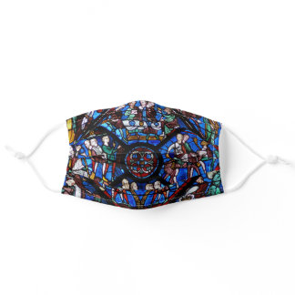 Stained Glass Window Adult Cloth Face Mask