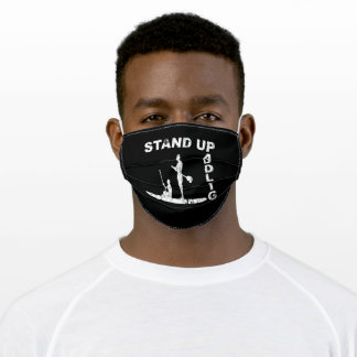 Stand Up Paddling Paddling Adult Cloth Face Mask
