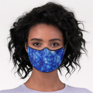 Starry Blue Premium Face Mask