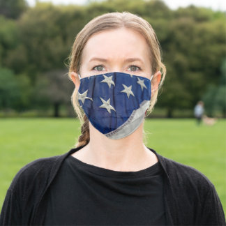 Stars and Stripes Adult Cloth Face Mask