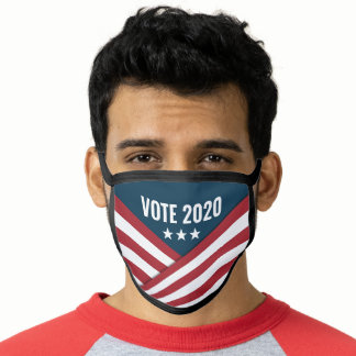 Stars and Stripes Vote 2020 Face Mask