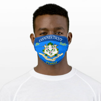 State Connecticut Cloth Face Mask