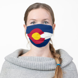 State Flag of Colorado Adult Cloth Face Mask