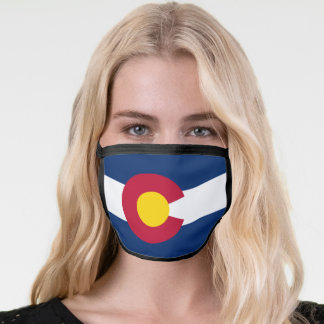 State Flag of Colorado Face Mask