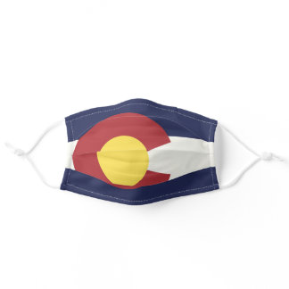 State Flag of Colorado, USA Adult Cloth Face Mask