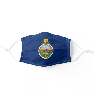 State Flag of Kansas Adult Cloth Face Mask