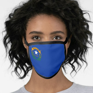 State Flag of Nevada Face Mask