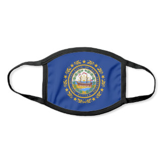 State Flag of New Hampshire Face Mask