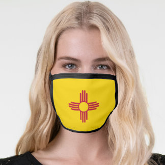 State Flag of New Mexico Face Mask