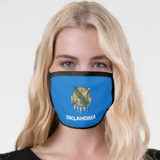 State Flag of Oklahoma Face Mask