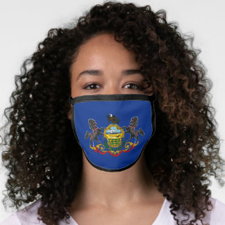 State Flag of Pennsylvania Face Mask