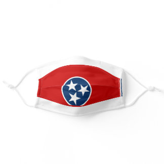 State Flag of Tennessee Adult Cloth Face Mask