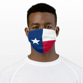 State Flag of Texas Adult Cloth Face Mask