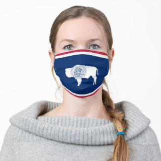 State Flag of Wyoming Adult Cloth Face Mask