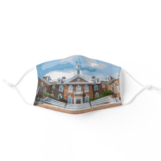 State of the State Delaware Adult Cloth Face Mask
