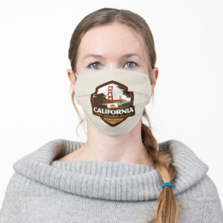 State Pride   California Adult Cloth Face Mask