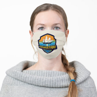 State Pride   Connecticut Adult Cloth Face Mask