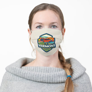 State Pride | Vermont Adult Cloth Face Mask
