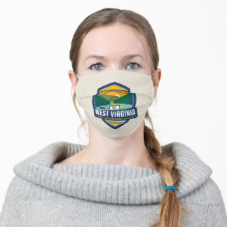 State Pride | West Virginia Adult Cloth Face Mask