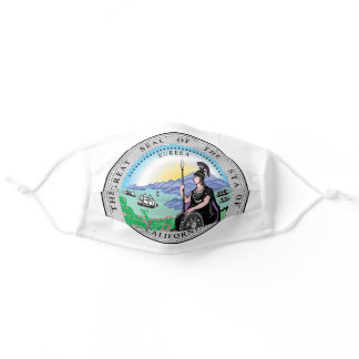 State Seal of California Adult Cloth Face Mask