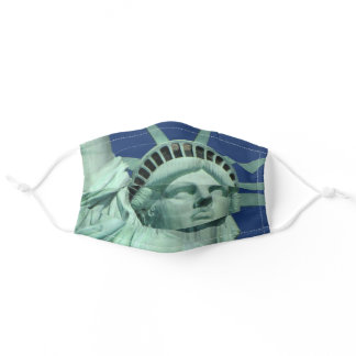 Statue of Liberty Closeup Adult Cloth Face Mask