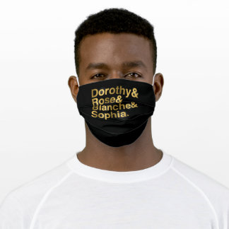 Stay Golden Adult Cloth Face Mask