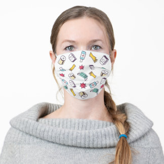 Stay Safe Colorful Adult Cloth Face Mask