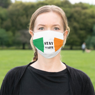 STAY SAFE IRELAND ADULT CLOTH FACE MASK