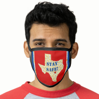 STAY SAFE! TEXAS FACE MASK