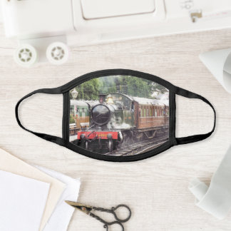 STEAM TRAINS All-Over Print Face Mask